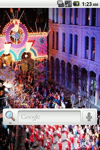Mardi Gras Live Wallpaper