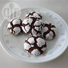 Chocolate Chip Crinkle Cookies