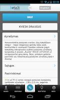 Screenshot of Beta.lt