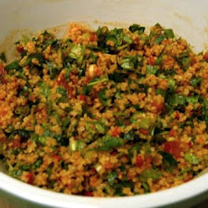 Kisir (Turkish Bulgur Wheat Salad)