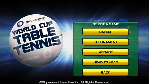 world-cup-table-tennis for android screenshot