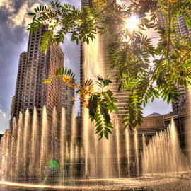 KLCC Fountain by Jhing Summers - Buildings & Architecture Office Buildings & Hotels ( klcc, klcc park, petronas towers )