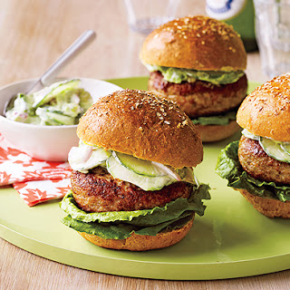 Spicy Chicken Burgers