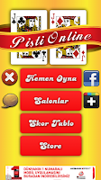 Screenshot of Pişti Online