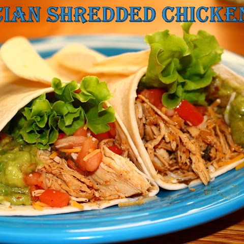 Restaurant Style Mexican Shredded Chicken
