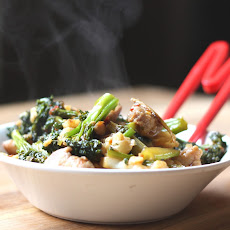 Spicy Chicken and Broccolini Stir Fry