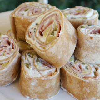 Ham and Pickle Roll-Ups