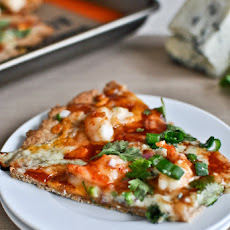 Whole Wheat BBQ Shrimp Flatbreads