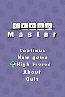 Screenshot of CrossMaster