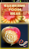 Screenshot of Garnishing Foods Ideas