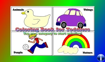 Screenshot of Coloring Book for Toddlers