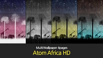 Screenshot of Africa Atom Multi Theme