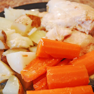 Sunday Chicken Dinner in the Slow Cooker