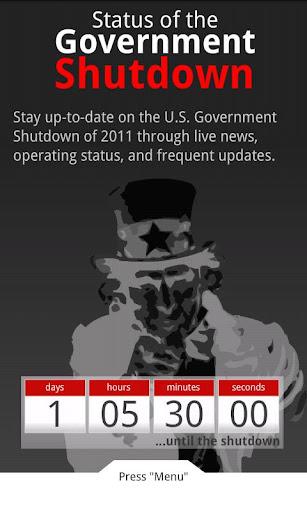 Federal Shutdown Tracker