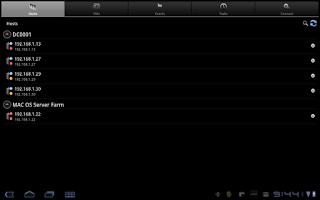 Screenshot of iVMControl