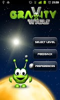 Screenshot of Gravity Wars Alpha