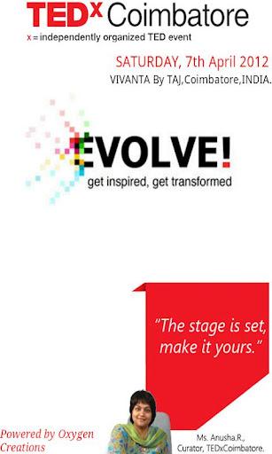 TEDx coimbatore