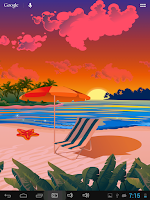 Screenshot of Seasons Summer Live Wallpaper