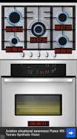 Screenshot of kitchen timer clock