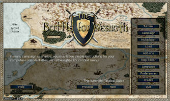 Screenshot of Battle for Wesnoth Free