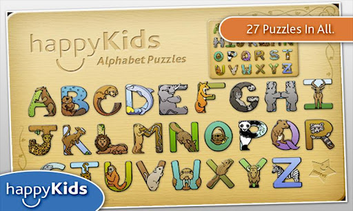 happyKids Animal Alphabet Game