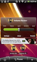 Screenshot of Volume Rocker