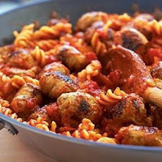 Pasta with Hot Sausage Sauce
