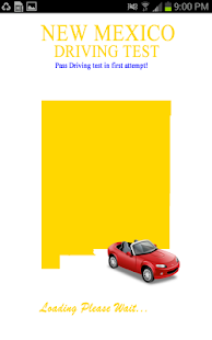 New Mexico Driving Test - screenshot