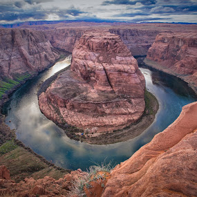 Horseshoe Bend by Paul Runze - Landscapes Deserts ( arizona, colorado, horseshoe bend, grand canyon )
