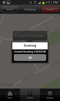 Screenshot of Auckland Coop Taxis