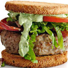 Club Burger Sliders with Avocado-Ranch Dressing