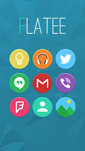 Flatee - Icon Pack Screenshot