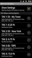Screenshot of Sales Tax Discount Calculator