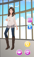 Screenshot of Selena Gomez Celebrity Dressup