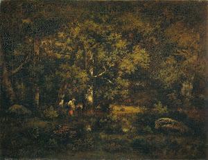 RIJKS: Narcisse Virgile Diaz de la Peña: painting 1871