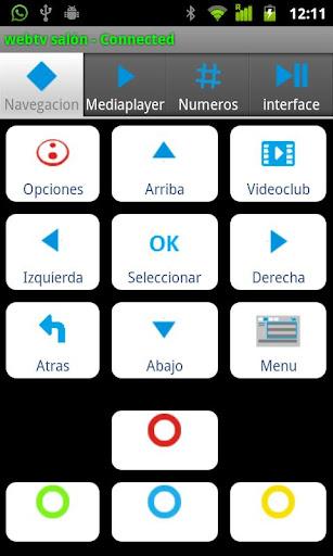 WebTVmote PRO - screenshot