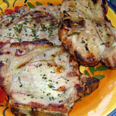 Lemon-Tarragon Grilled Pork Chops