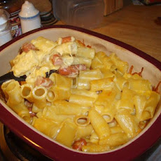 Baked Lil' Smokies N Homemade Mac-N-Cheese