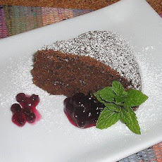 Steamed Chocolate-Cafe Latte Pudding