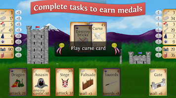 Screenshot of Castle Siege: Fantasy Battles