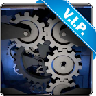 Mechanical gear 3D lwp icon