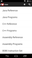Screenshot of C++, Java Programs & Reference