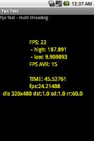 Screenshot of FPS Test