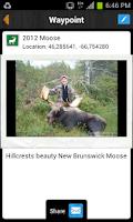 Screenshot of iHunter New Brunswick