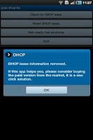 Screenshot of Galaxy Tab DHCP Fix Free