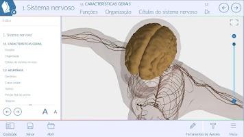Screenshot of Anatomia Humana EvoBooks