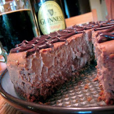 Chocolate-Guinness Cheesecake