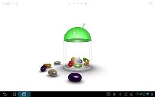 Screenshot of 3D Jelly Bean Live Wallpaper