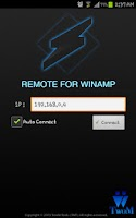 Screenshot of Remote for Winamp
