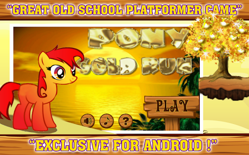 Pony Gold Run - screenshot